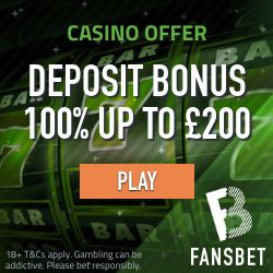 fansbet 100% welcome bonus